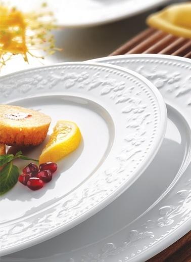 Kütahya Porselen Silvia 24 Parça Yemek Seti Renkli